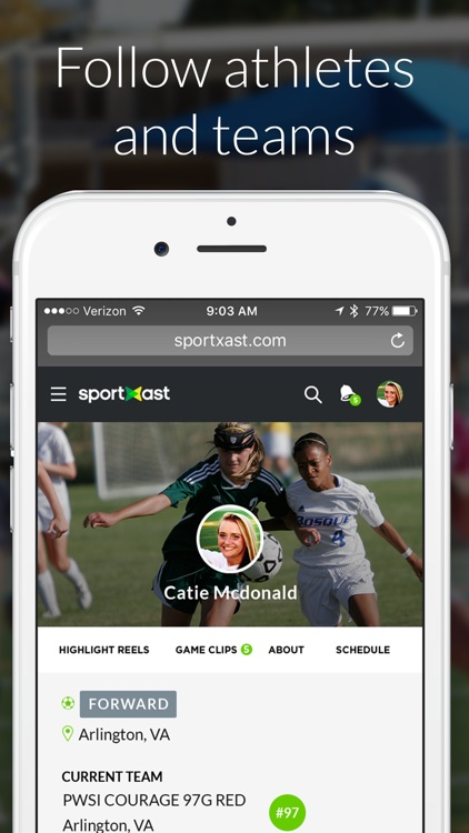 SportXast - Record and Share Sports Video Highlights screenshot-3