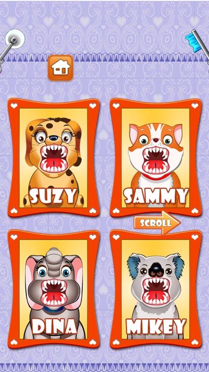 Pet Vet Dentist Doctor - Games for Kids Free screenshot-3