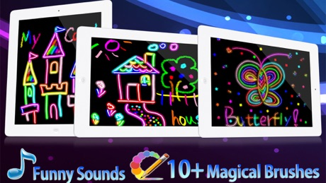 Kids Drawing HD – Free Kids Color Draw & Paint Games on Pictures