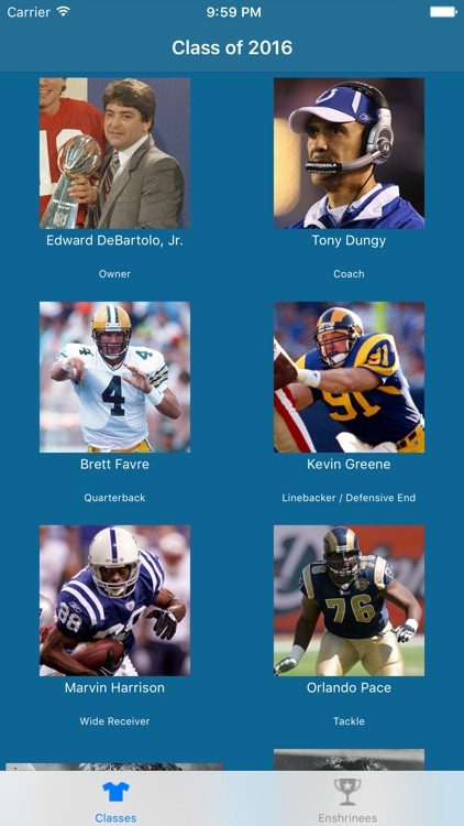 Pro Football Hall of Famers