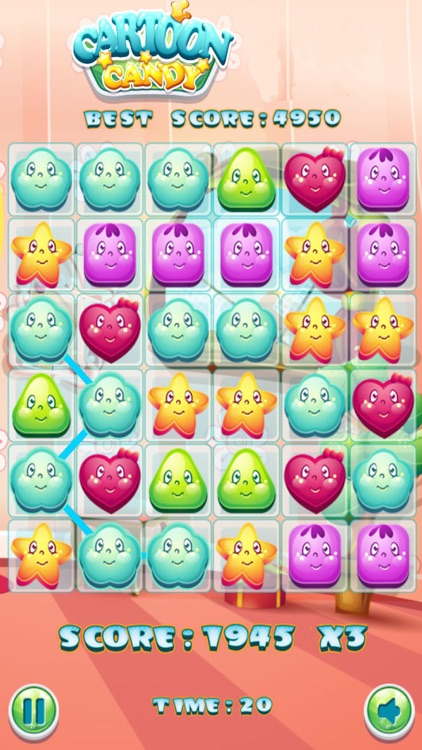 Candy Cartoon Match 3 - Puzzle
