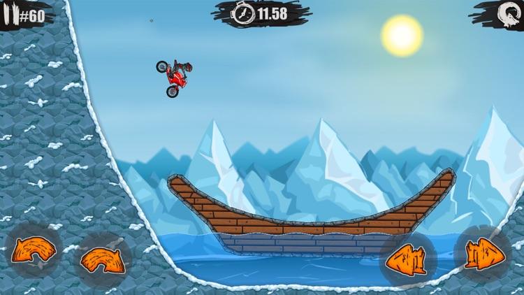 疯狂特技摩托 - 真实飞车模拟驾驶&孤胆赛车游戏(单机+免费) screenshot-4