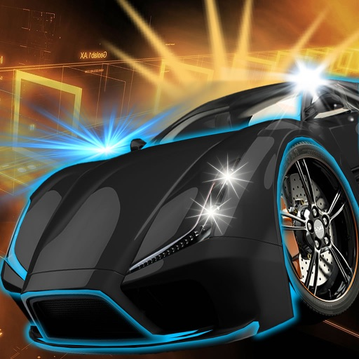 A Speed Neon Car - Amazing Speed Light Car