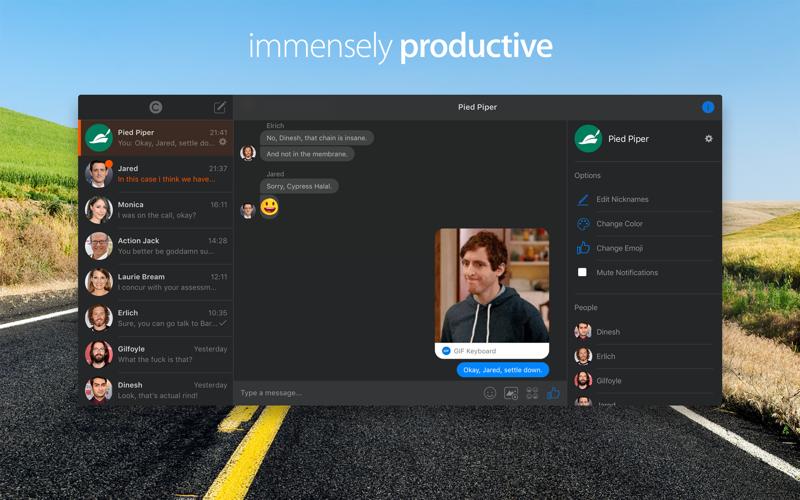 Chatty for Facebook Messenger Screenshots