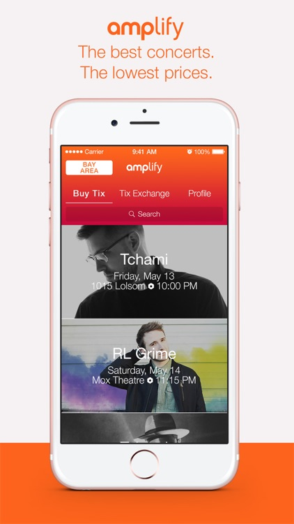 Amplify - Buy Cheap Concert Tickets Now