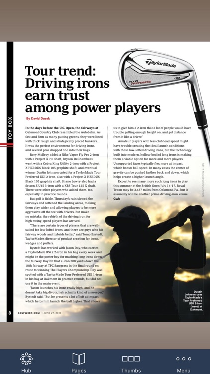Golfweek Magazine screenshot-3