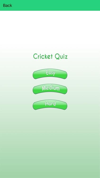 Cricket Game Quiz App - Challenging Cricket games Trivia & Facts