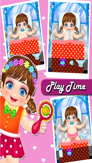 New Born Baby Care & Dress Up screenshot one