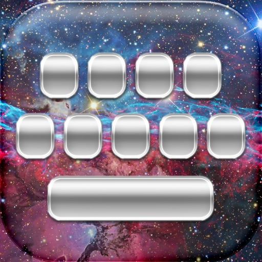 Space Keyboard Free – Custom Galaxy and Star Themes with Cool Fonts for iPhone iOS App
