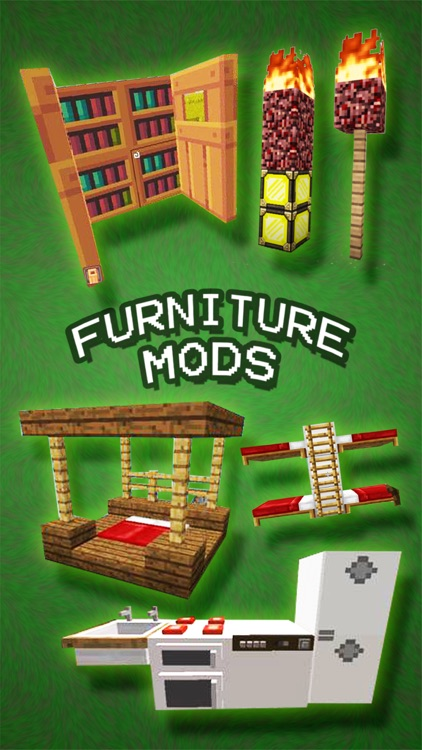 Furniture Mods FREE - Best Pocket Wiki & Tools for Minecraft PC Edition