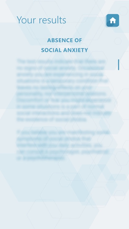 Social Anxiety Test - Psychological Test screenshot-4