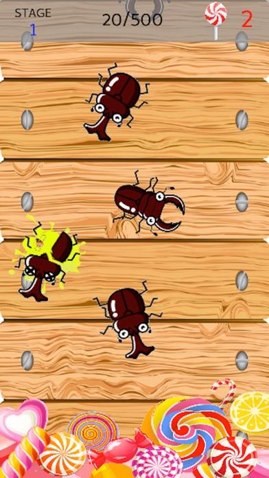カブトムシ潰し【シンプルで簡単&ハマる・暇つぶしゲーム】紹介画像1