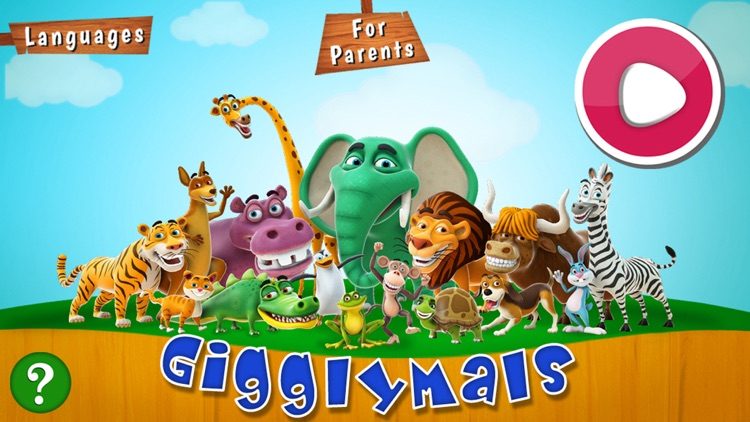 Gigglymals - Funny Animal Interactions for iPhone screenshot-0