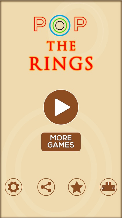 Pop The Rings - Free Fun Addictive Games