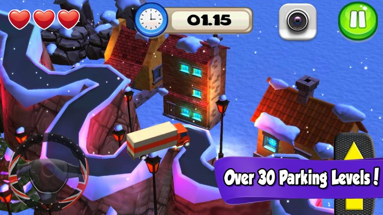Driving School 2016—Car Parking Games& 3D Bus Simulator (Free) screenshot-3