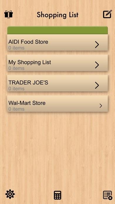 grocery list checklist