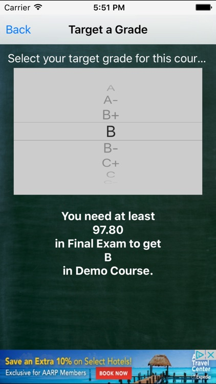 Grade Calculator Plus screenshot-2