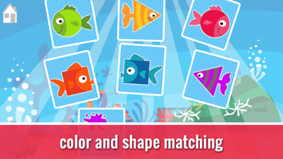 Find My Pair 2 Colors & Shapes screenshot one