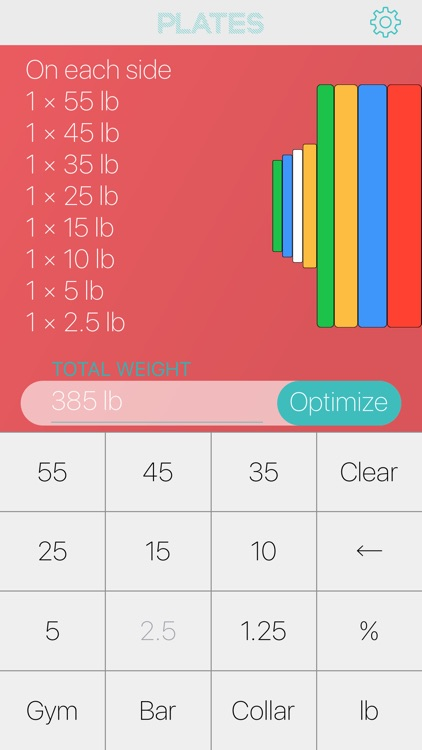 Plates Barbell Plate Weight Calculator By Nick Talavera