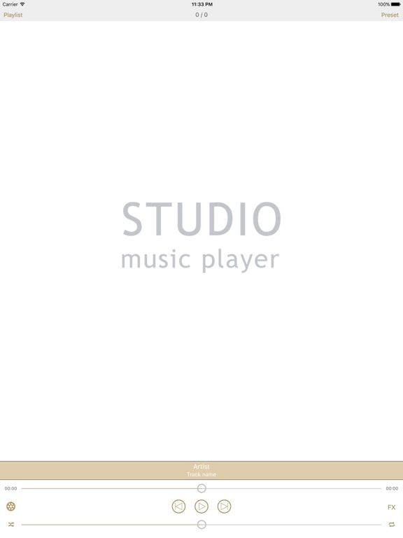 Screenshot #4 pour Studio Music Player | Égaliseur de 48 bandes