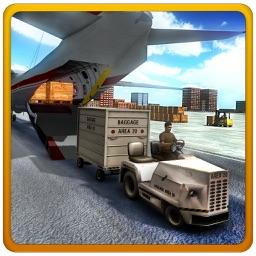 Airplane Cargo Truck Sim 3D