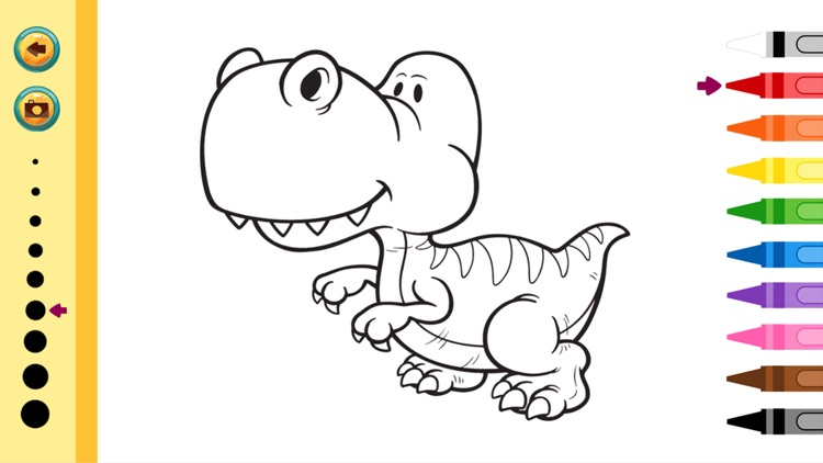 Dinosaurs Coloring Book - Painting Game for Kids