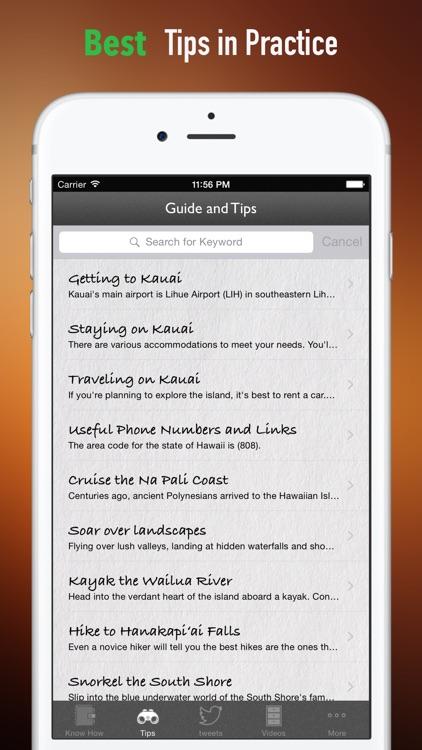 Kauai Travel:Raiders,Guide and Diet screenshot-3