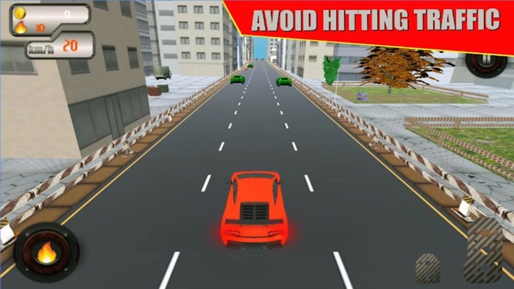 VR Highway Car Traffic Race 3D