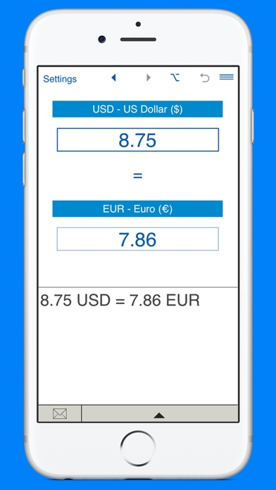 Screenshot 7 For US Dollars To Euros And EUR USD Converter