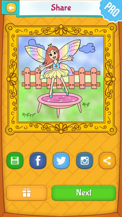 Fairy Coloring Pages PRO: Coloring Game for Kids screenshot-3