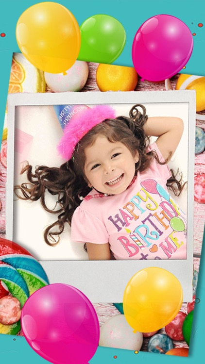 Happy Birthday photo frames – create birthday greeting cards & collages and edit your images