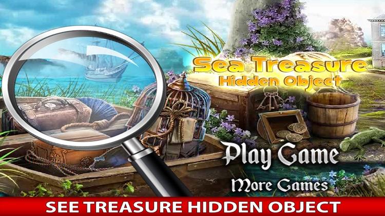 Sea Treasure - Hidden Objects Treasure hunt adventure game free screenshot-3