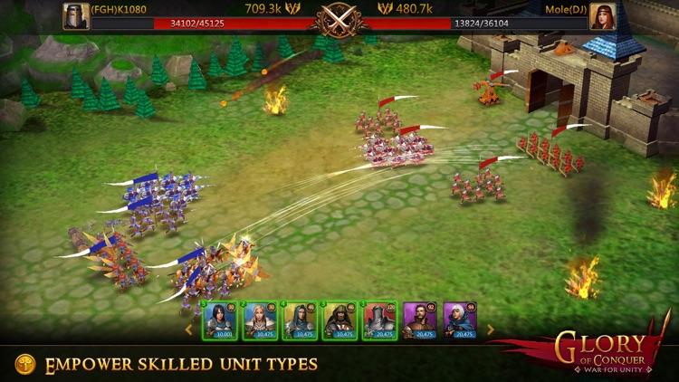 Glory of Conquer: War for Unity screenshot-3