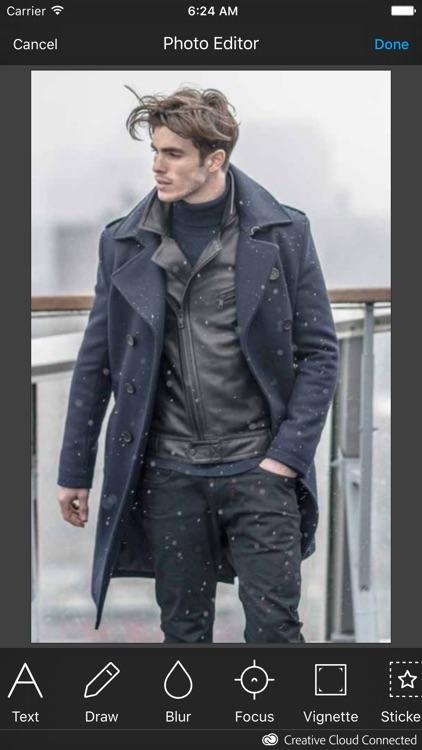 Winter Man Photo Suit screenshot-3