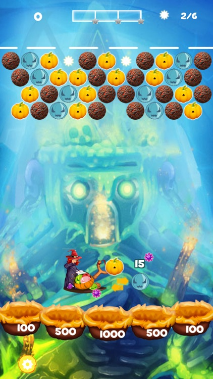 Monster Bubble Shooter 2016 screenshot-3