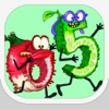 Fruits love Numbers : a healthy adventure against angry pumpkins - iPhoneアプリ