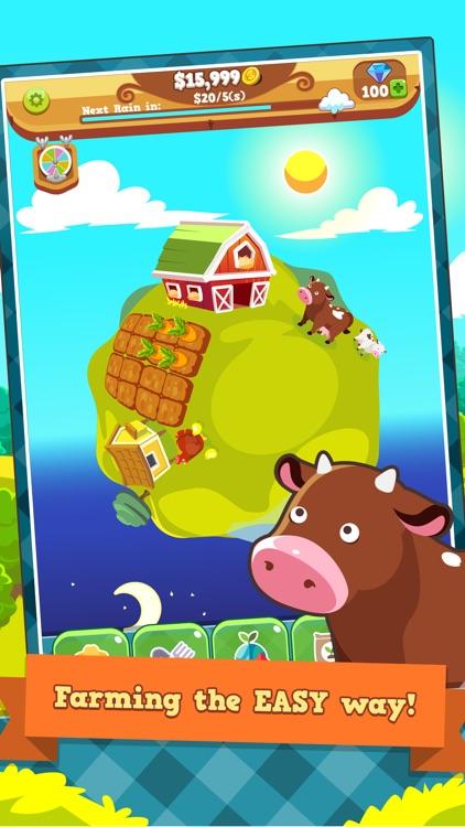 Tiny Farm Planet - Idle Clicker Game
