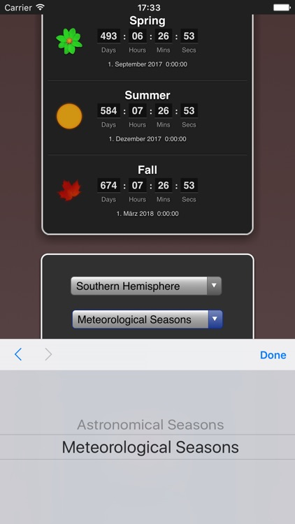 Seasons App screenshot-1