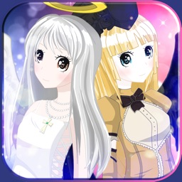 Anime Angel Girls DressUp - Cute Princess MakeUp & Makeover Games For Kids