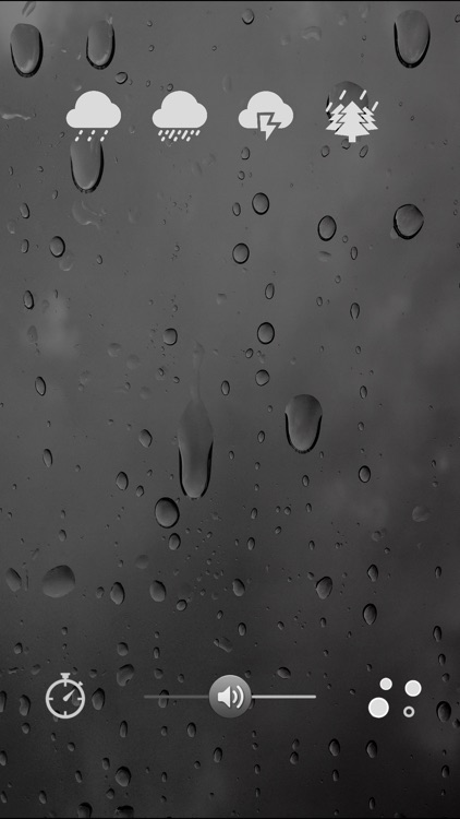 Rainscapes: the sounds of rain