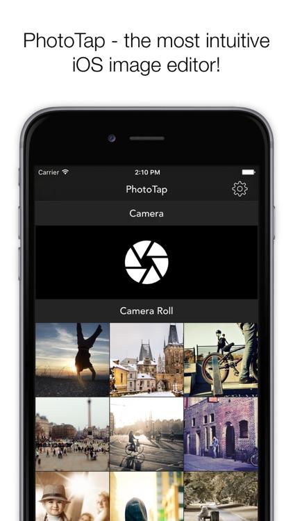PhotoTap - Photo Editor screenshot-0