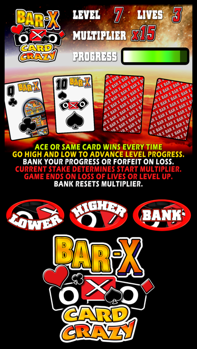 BAR-X Card Crazy - The Real Arcade Fruit Machine Collection screenshot two