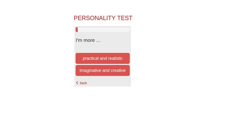 Psychological Test 16P