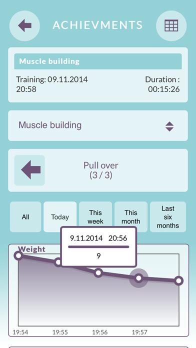 Training Plan Free - My personal training journal screenshot two