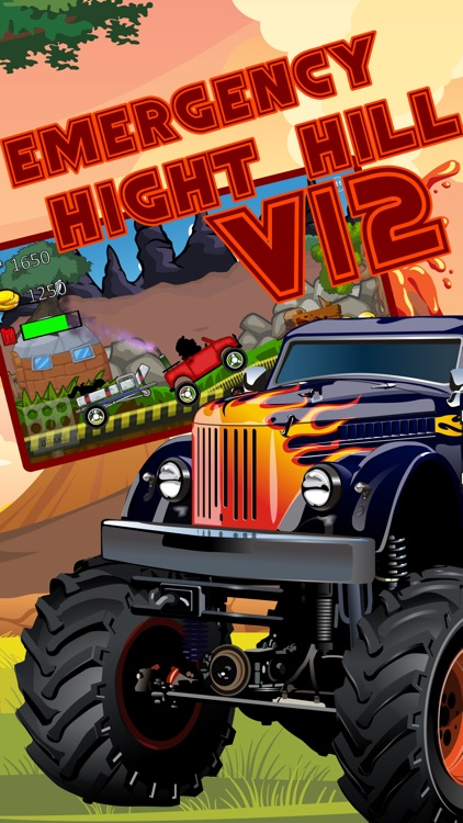 monster truck climb : free car racing games screenshot-2