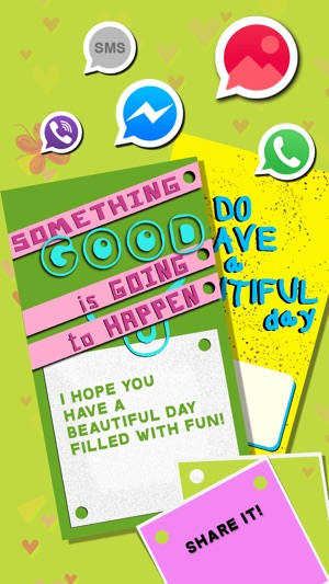 greeting cards maker create have a nice day ecards and