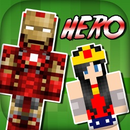 SuperHero Skins - Export Skin for Minecraft Pocket Edition