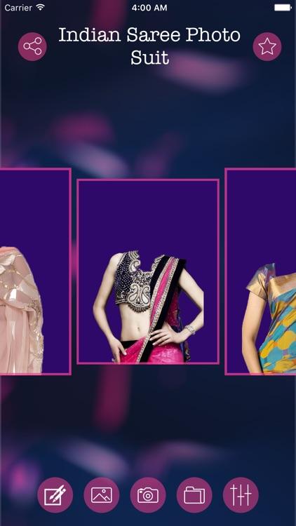 Indian Saree Photo Suit & Editor