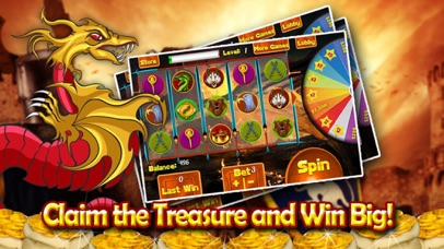Ancient Dragon Throne Casino Slots - Play and Win The Iron