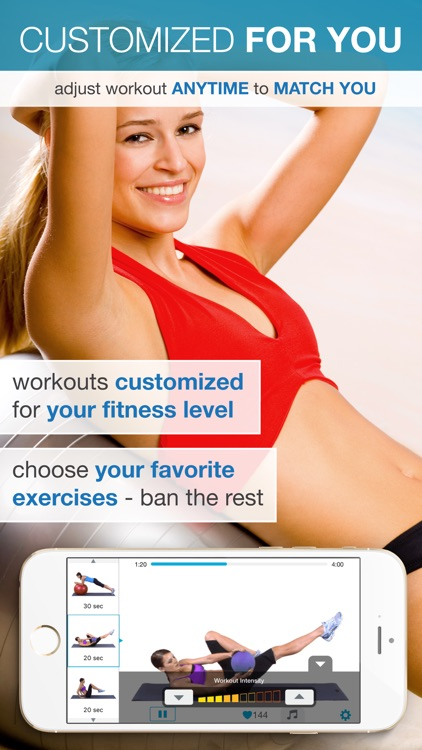 Easy Ab Workouts Free - Flatten and Tone Your Stomach and Back Fat